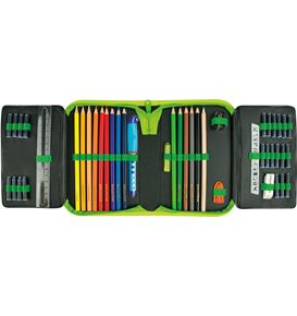 Eberhard-Faber - Pencil case filled with 50 items