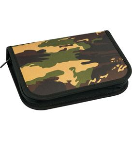 Eberhard-Faber - Pencil case Camouflage filled with 32 items