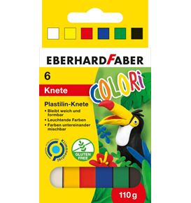 Eberhard-Faber - Modelling clay cardoard box of 6