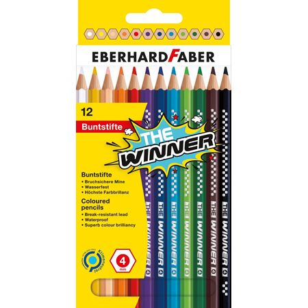 Eberhard-Faber - Coloured pencil THE Winner box of 12