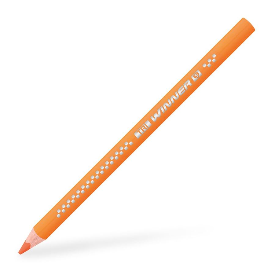 Eberhard-Faber - TRI Winner coloured pencil orange glaze