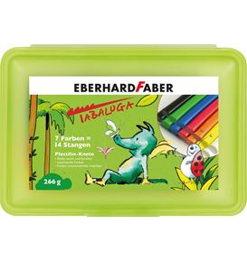 Eberhard-Faber - Modelling clay Tabaluga box of 14