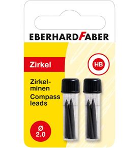 Eberhard-Faber - Compass leads 2 mm HB 2x 4 pcs.